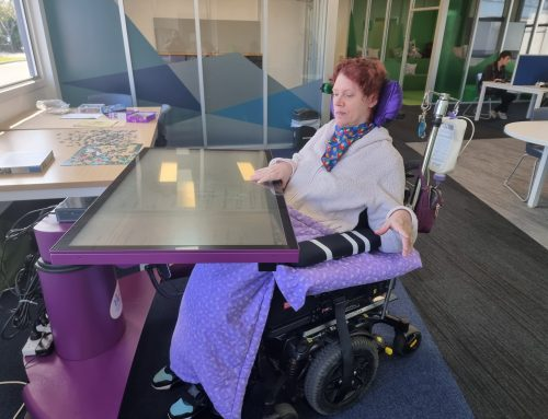 TAPit Assistive Technology has arrived at our Devonport Campus